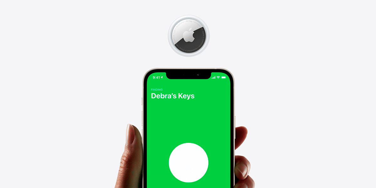 AirTag de Apple, descubre tus objetos fácilmente