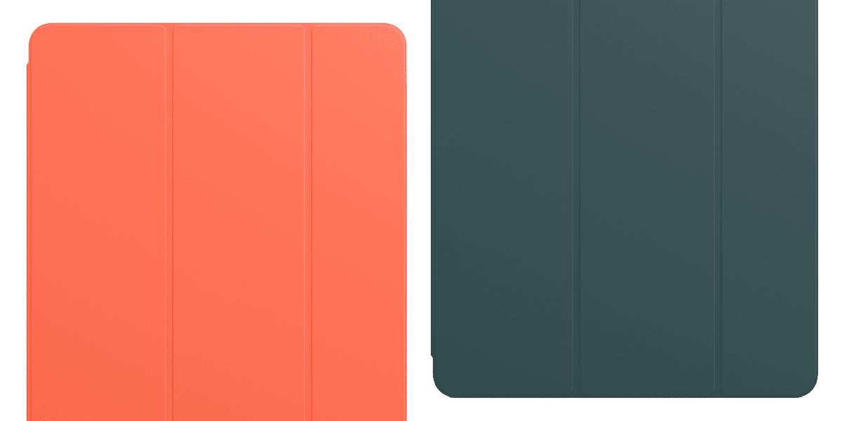 Verde ánade y naranja eléctrico, los dos nuevos colores para la funda Smart Folio y Smart Cover