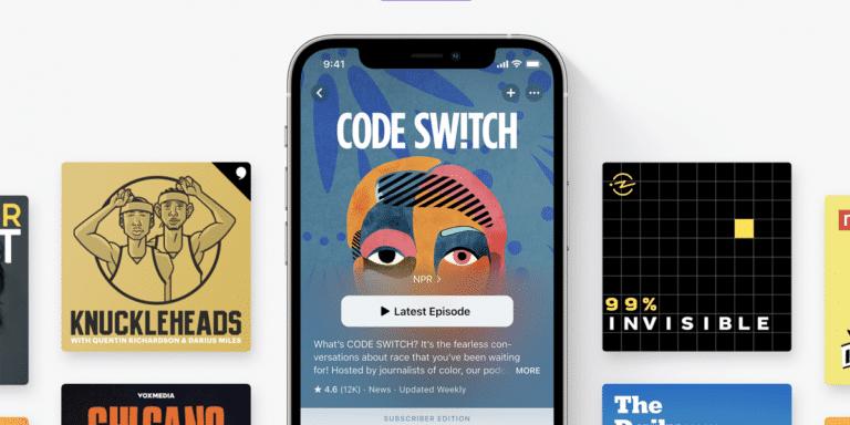 Apple Podcasts en iOS 14.6