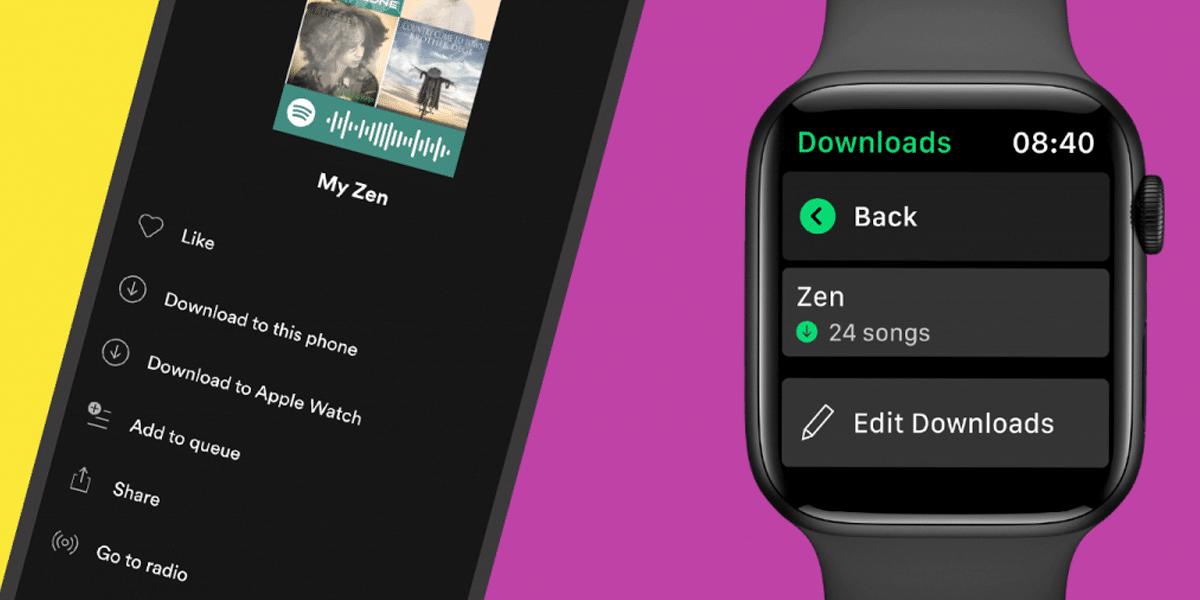 Apple Watch y Spotify