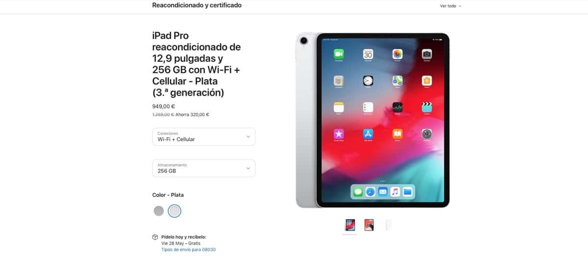 iPad Pro restaurado
