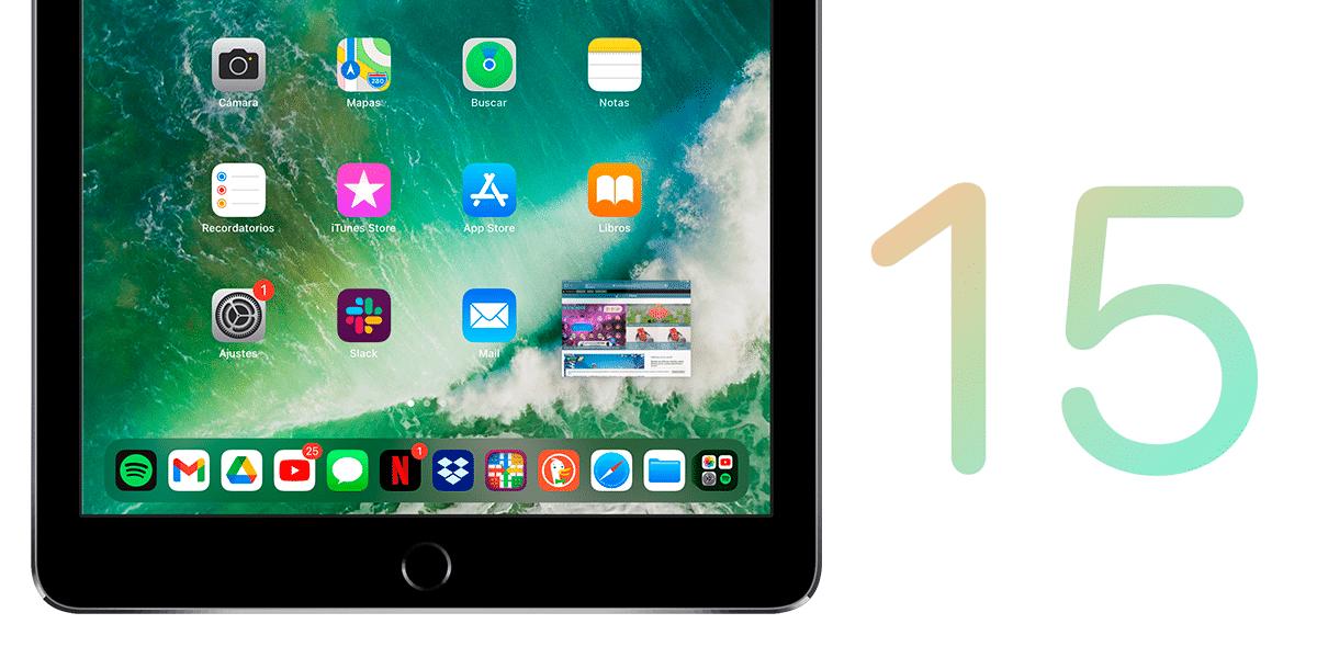 Arrastrar y Soltar en iOS 15