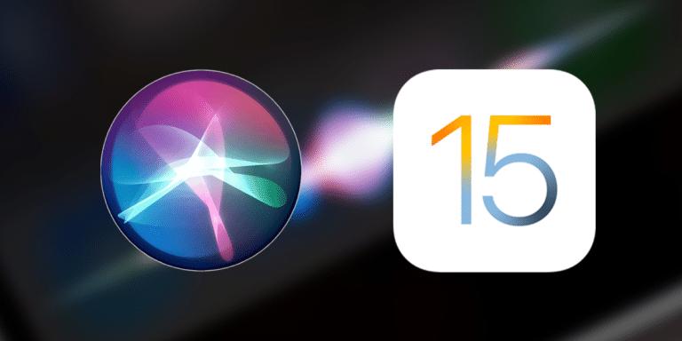 Siri mejora en iOS y iPadOS 15