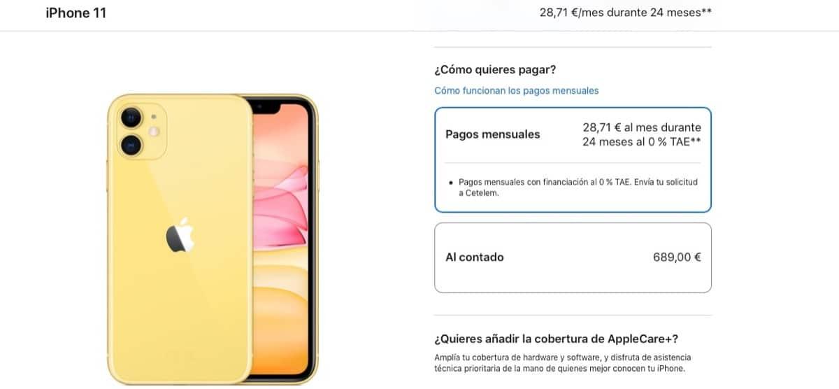 Vuelve la financiación a coste 0 en Apple para todos sus productos