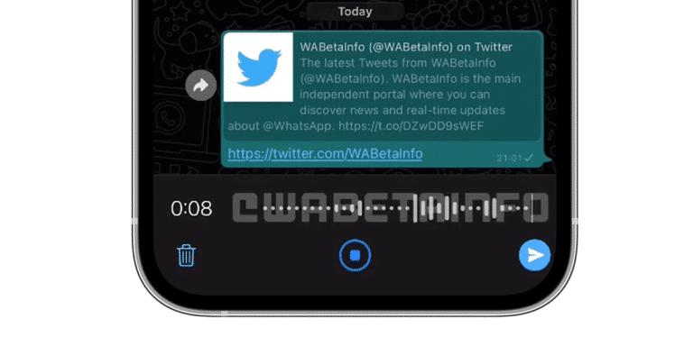 WhatsApp rediseña los mensjes de audio