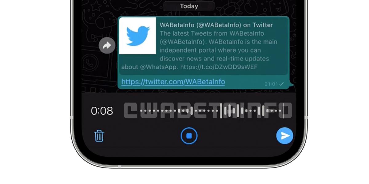 WhatsApp rediseña los mensjes de voz