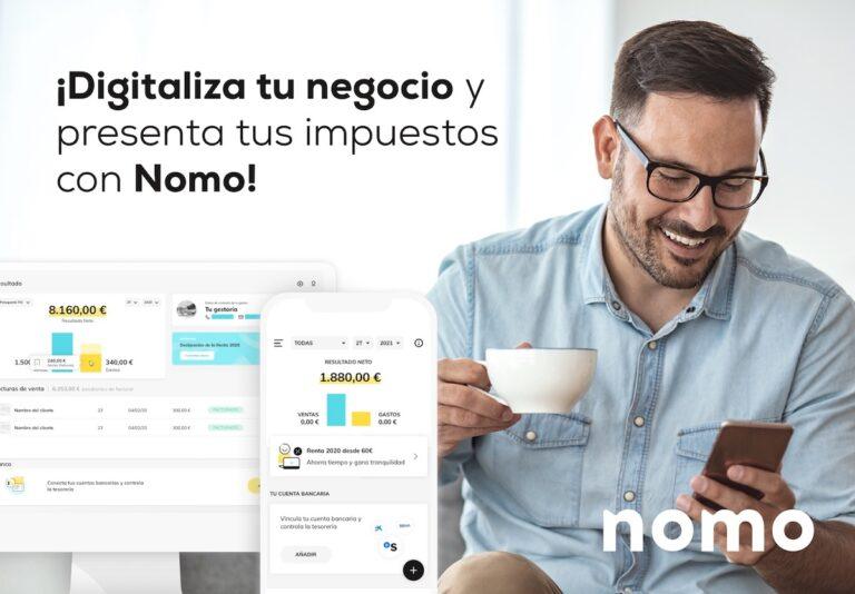 App Nomo multiplataforma