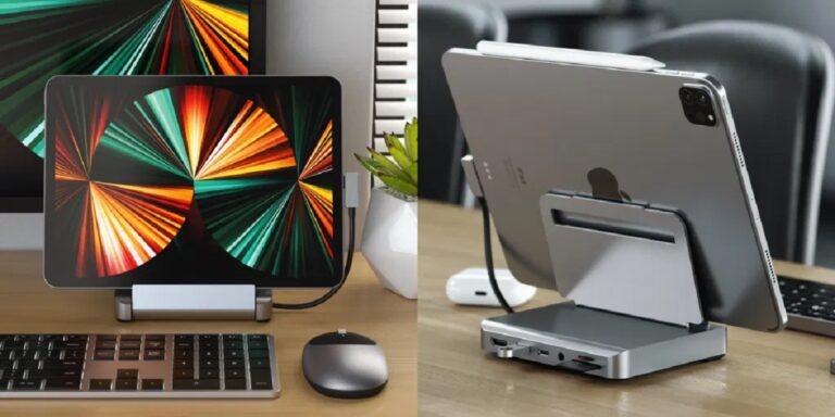 Con el lanzamiento del iPad Pro 2021 con el procesador M1, Apple no ha hecho más que confirmar que este dispositivo tiene un futuro prometedor y que no tiene absolutamente nada que envidiar a un portátil convencional, sobre todo si hablamos de potencia. Gracias a ello, muchos usuarios se plantean su compra como dispositivo todo en uno, tanto para el hogar como para llevarlo siempre encima. Con esta idea en la cabeza, los chicos de Satechi han presentado un soporte de aluminio, con un diseño similar al Mac Mini, soporte que se pliega para poder llevarlo siempre con nosotros y que además, incluye hasta 6 puertos de conexión, lo que nos permite convertir nuestro iPad en equipo de sobremesa en segundos allí donde nos encontremos. https://youtu.be/U53CGdECbbI Desde Satechi afirman que el nuevo Aluminium Stand and Hub para el iPad Pro y iPad Air, quieren mejorar la experiencia de los usuarios del iPad de Apple, ya sea en casa, en la oficina o en sus desplazamientos. Con seis puertos de conectividad, combina las capacidades de un ordenador de sobremesa con la comodidad de una tableta. El Stand & Hub de aluminio supera los límites de una configuración tradicional y es totalmente plegable y portátil, por lo que es ideal para cualquier configuración del espacio de trabajo, ya sea en casa, en la oficina o en los desplazamientos. El soporte cuneta con un cable USB-C que se conecta a la tablet. En la parte trasera del soporte encontramos un puerto HDMI, lectores de tarjetas SD y microSD, puerto de audio, puerto USB-C PD y un puerto de datos USB-A. El puerto HDMI soporta 4K a 60Hz. Puerto USB-C PD con una salida de hasta 60W. Puerto de datos USB-A de hasta 5 Gbps. Las ranuras para tarjetas SD y microSD se puede utilizar a forma simultánea. El Satechi Aluminium Stand and Hub for iPad Pro está disponible en la web de este fabricante por 99 dólares, un precio más que ajustado para la calidad que siempre ha ofrecido este fabricante y las especificaciones que nos ofrece. Además, es mu
