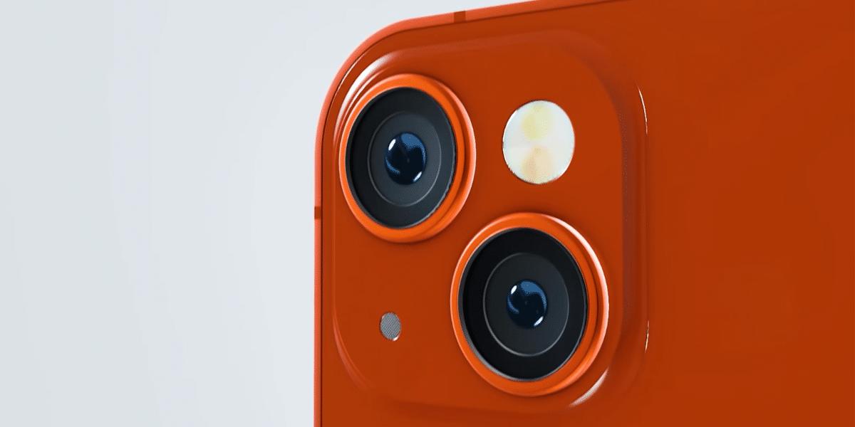 Cámara del iPhone 13 en un nuevo concepto