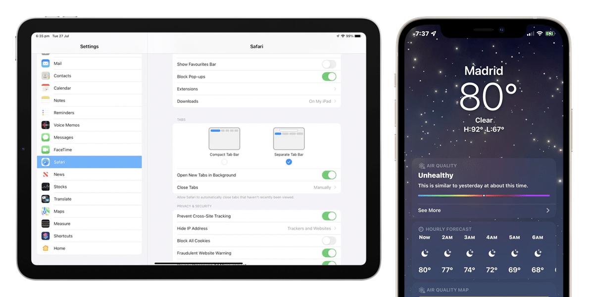 Estas son las novedades de la cuarta beta de iOS 15 y iPadOS 15