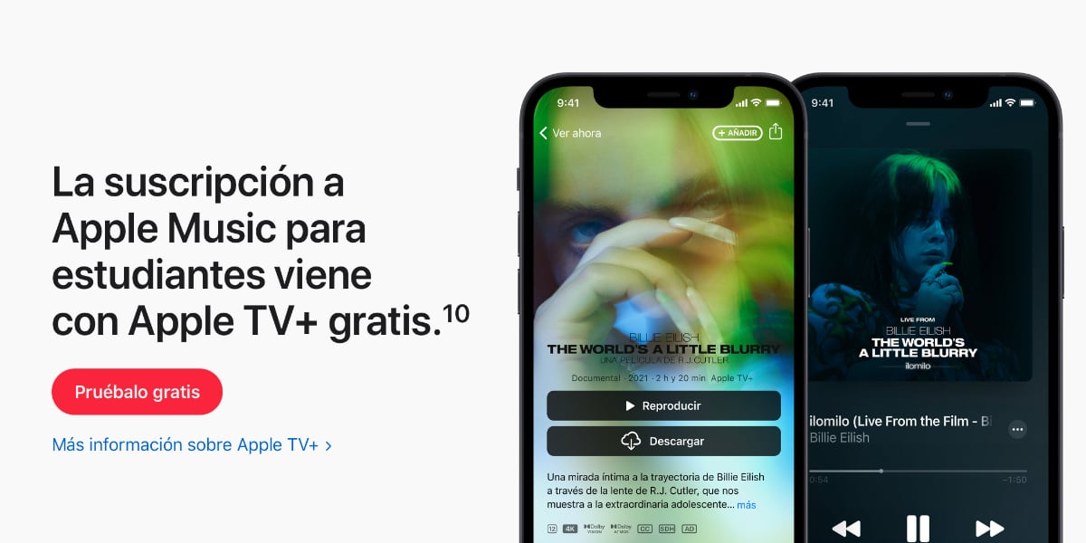 Apple TV + for free