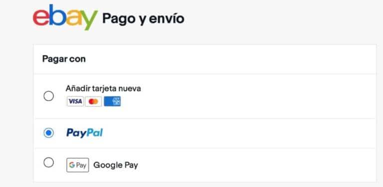 eBay pagos