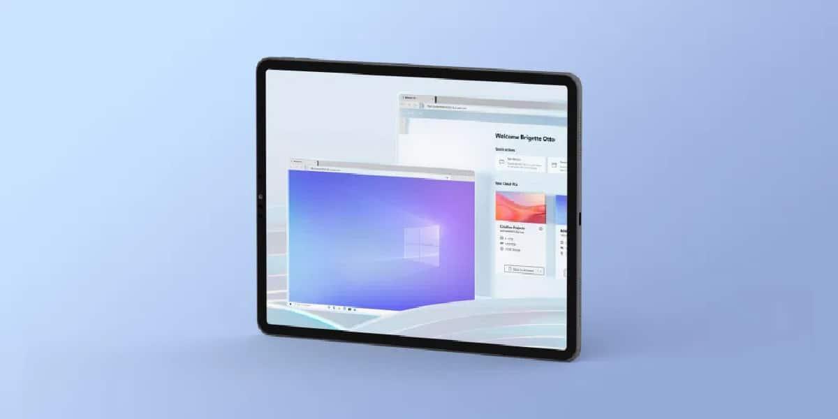 Windows en iPad
