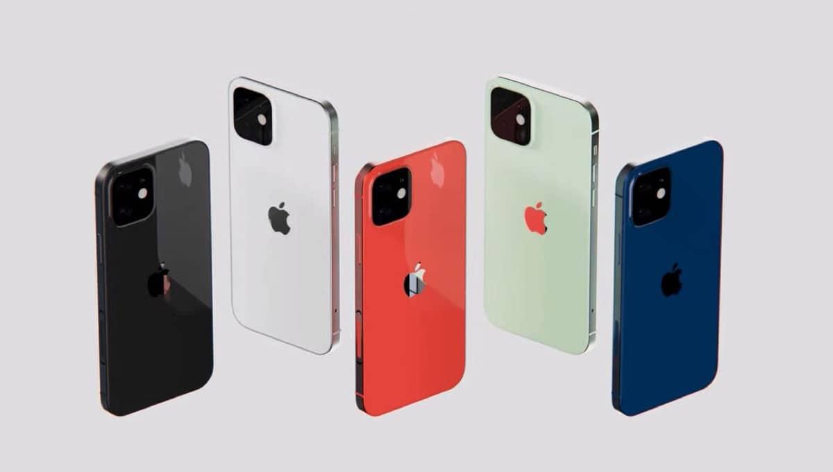 Modelos y colores del nuevo iPhone 13