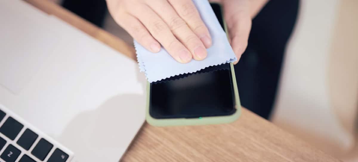 Limpieza iPhone