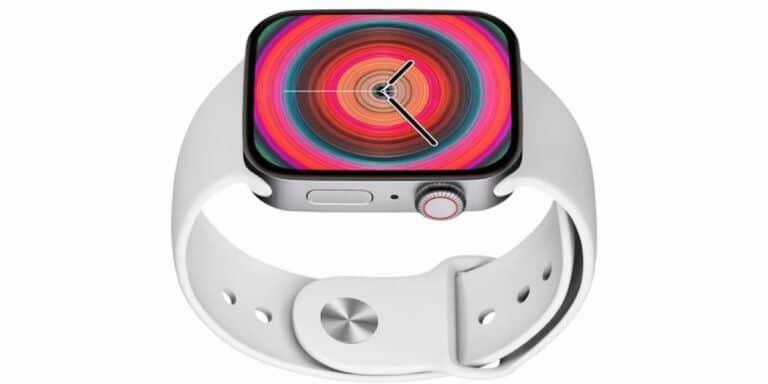 Apple Watch 7 plata