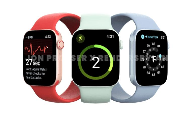 Apple Watch Series 7 y su nuevo diseño plano