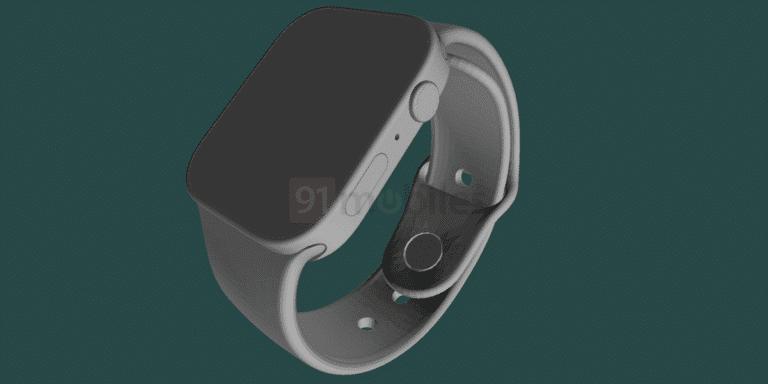 Render del Apple Watch Series 7