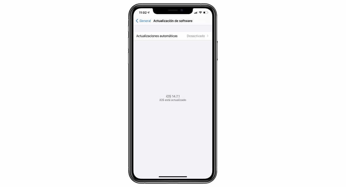 Actualizaciones iPhone