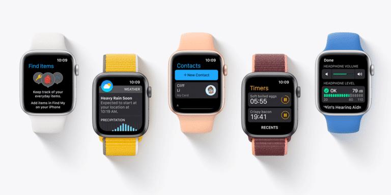 Beta 6 de watchOS 8 para desarrolladores