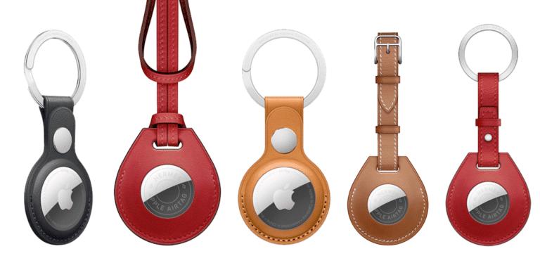Nuevos colores de correas y accesorios para los AirTag