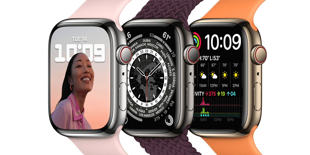Nuevo Apple Watch Series 7