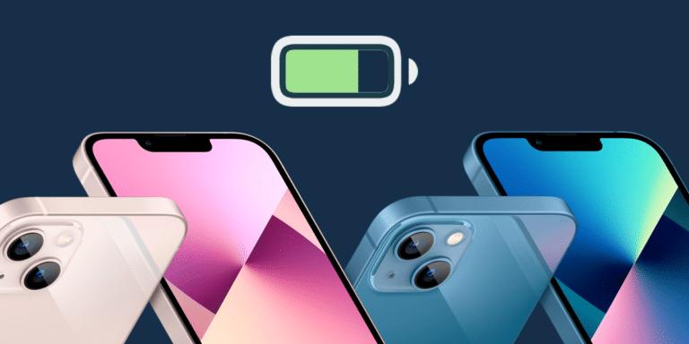 Baterías de los nuevos iPhone 13