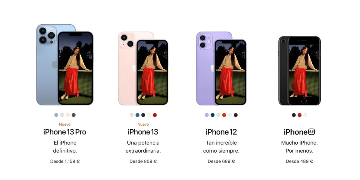 Gama iPhone