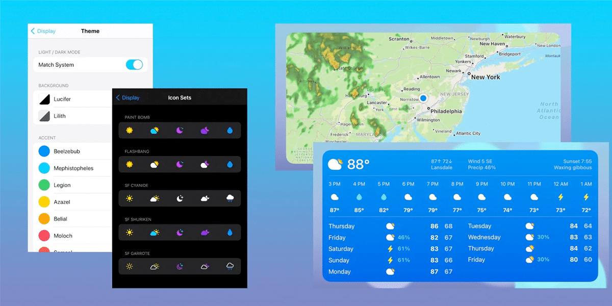 Widget CARROT Weather