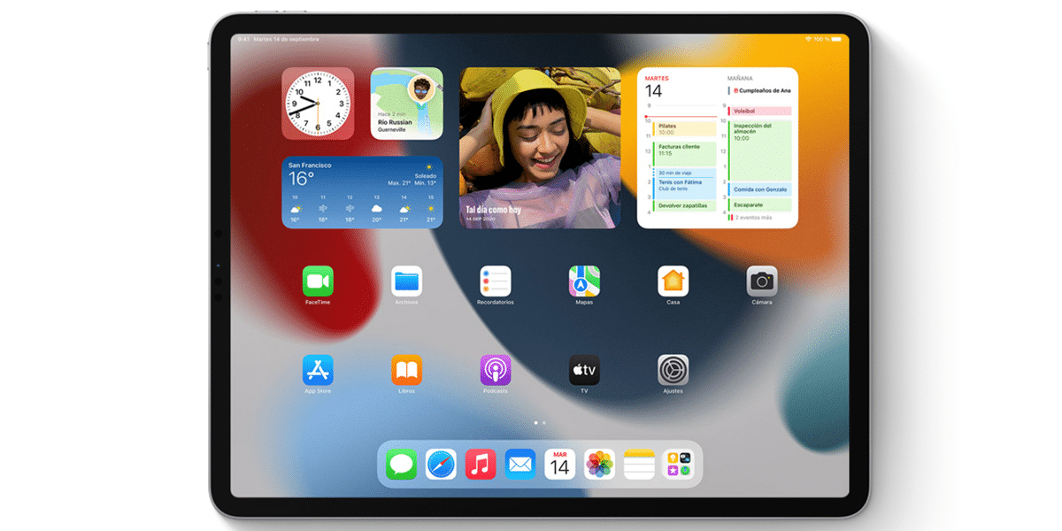 Widgets iPadOS 15
