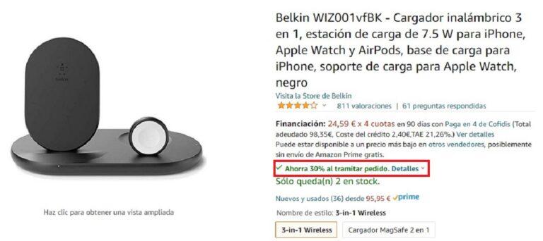 Descuentos en reacondicionados de Apple