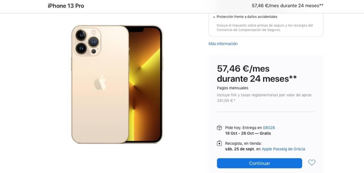 Envíos iPhone 13