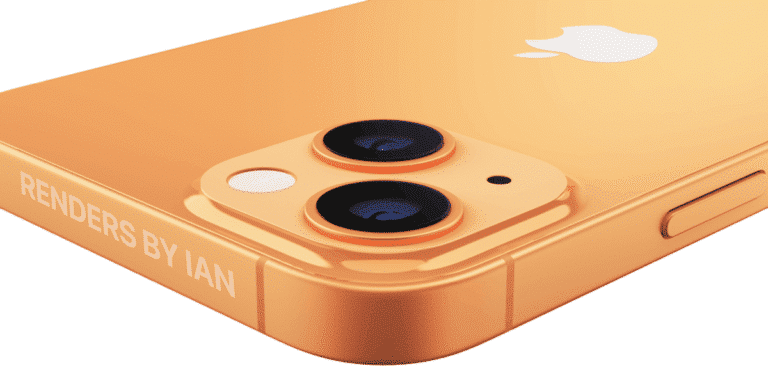 Color bronce del iPhone 13 Pro