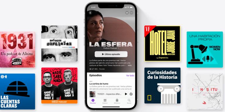 Apple Podcasts en iOS 15 y iPadOS 15