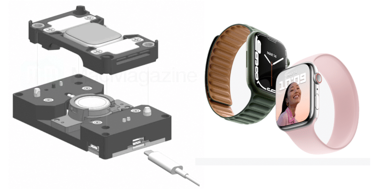 Base inalámbrica de soporte para el Apple Watch Series 7