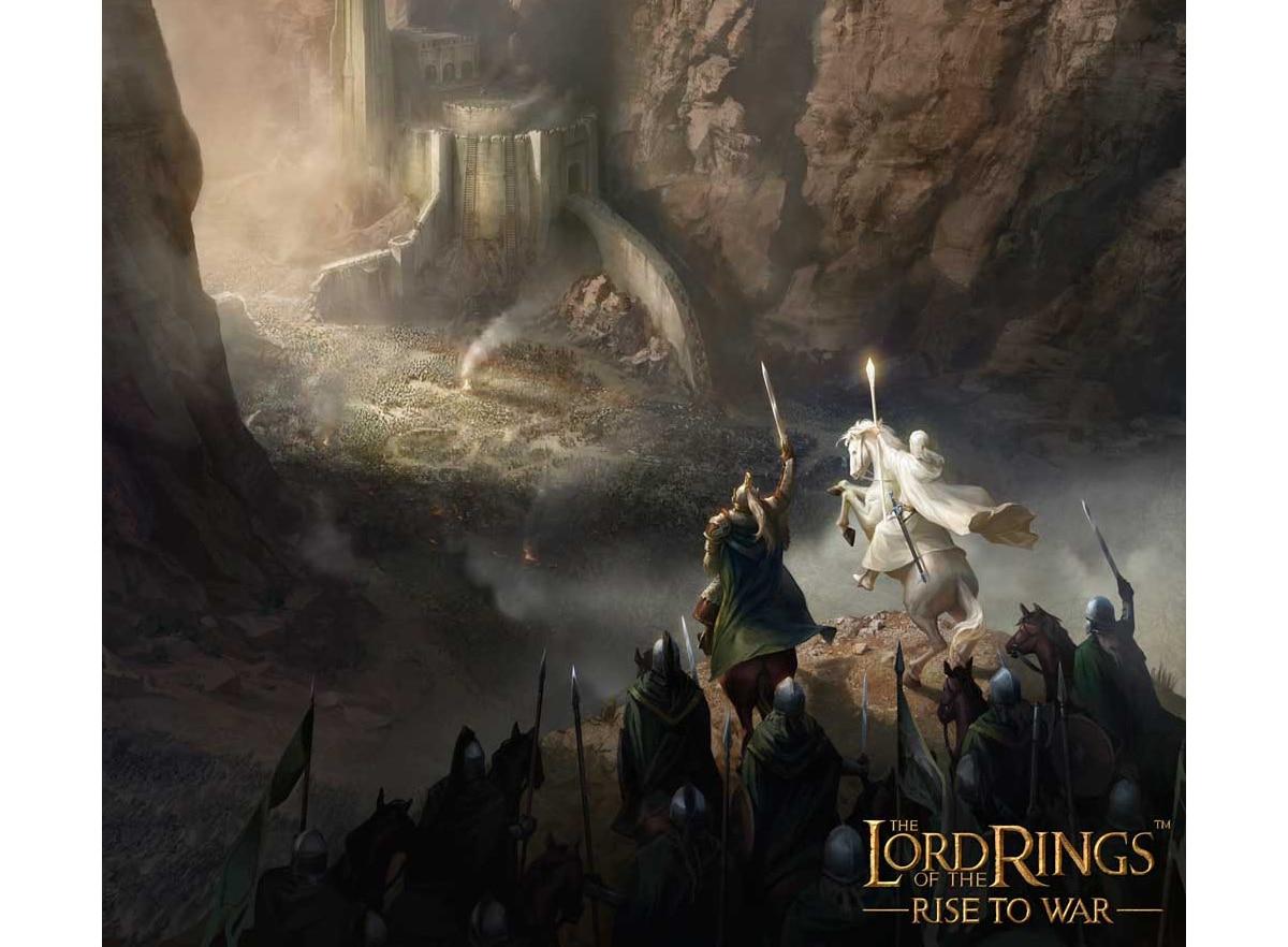 El señor de los anillos: guerra
