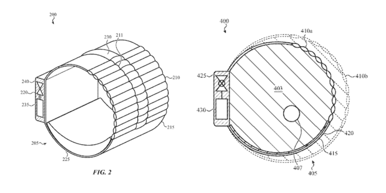 Patente presión arterial Apple Watch