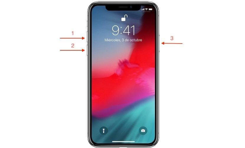Cómo reiniciar el iPhone X